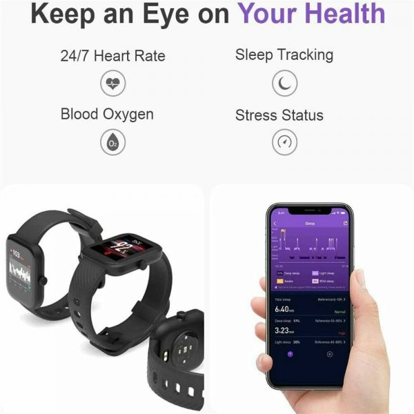Smart Watch Band Sport Activity Fitness Tracker For Kids Fit Bit Android Ios Uk (3)