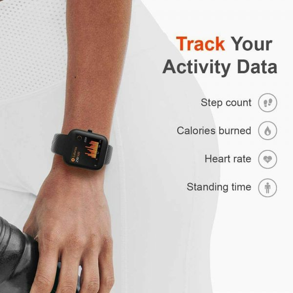 Smart Watch Band Sport Activity Fitness Tracker For Kids Fit Bit Android Ios Uk (5)