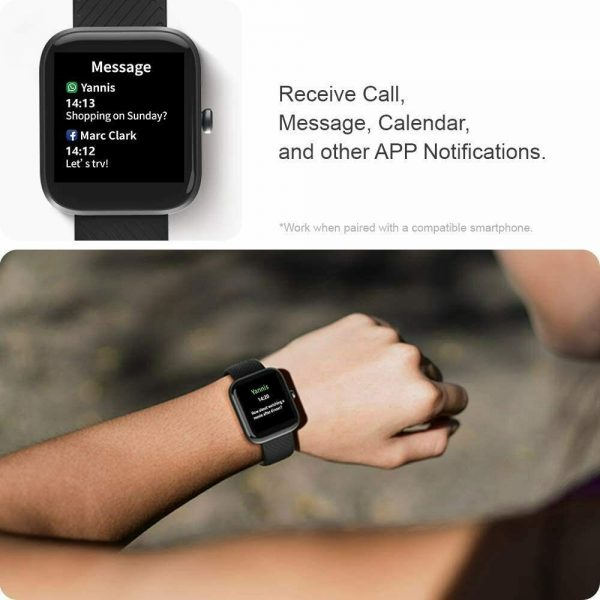 Smart Watch Band Sport Activity Fitness Tracker For Kids Fit Bit Android Ios Uk (6)