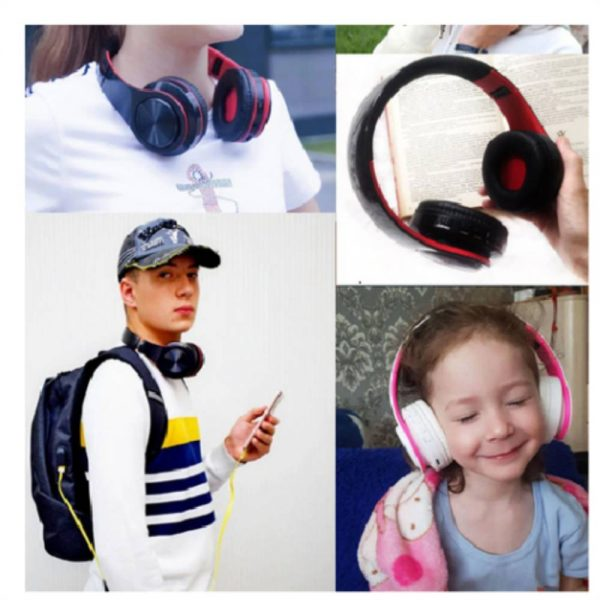 Super Bass Wireless Bluetooth Headphones Foldable Stereo Earphones Headsets Mic (21)