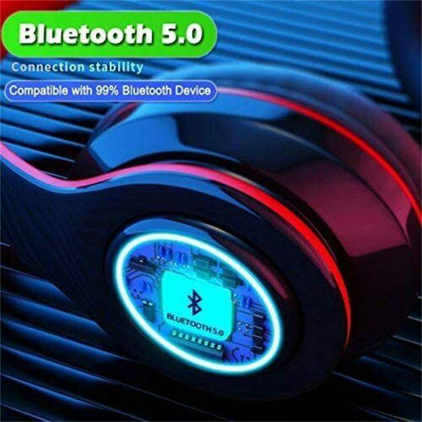 Super Bass Wireless Bluetooth Headphones Foldable Stereo Earphones Headsets Mic (23)