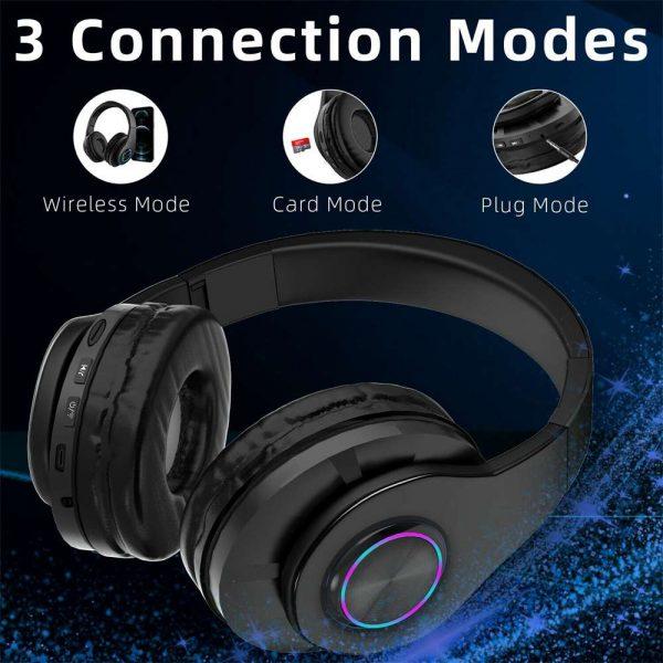 Super Bass Wireless Bluetooth Headphones Foldable Stereo Earphones Headsets Mic (27)