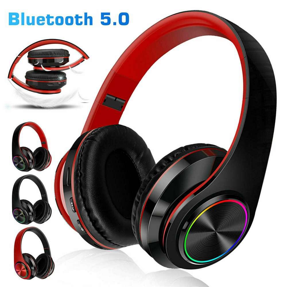Super Bass Wireless Bluetooth Headphones Foldable Stereo Earphones Headsets Mic (32)