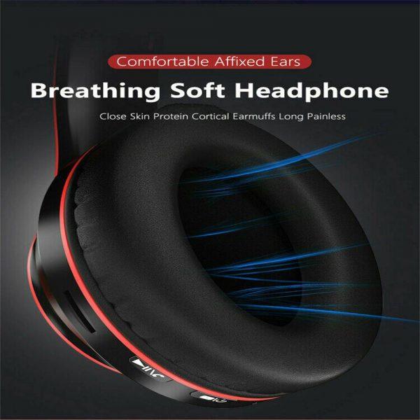 Super Bass Wireless Bluetooth Headphones Foldable Stereo Earphones Headsets Mic (36)