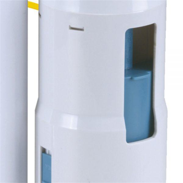 Toilet Flush Valve Button Cistern Dual Push Flush Siphon Fill Bottom Side Entry (1)