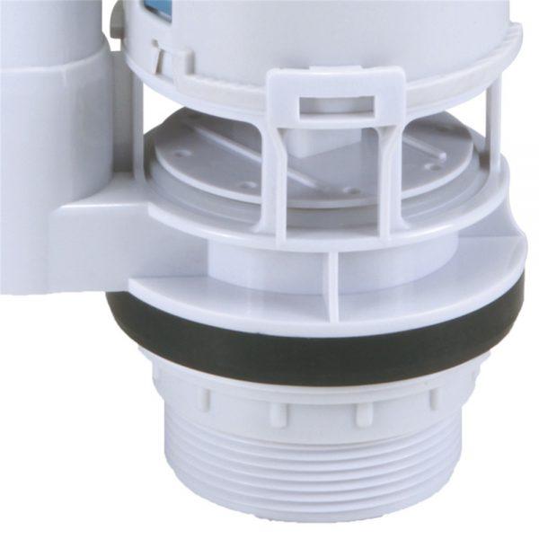 Toilet Flush Valve Button Cistern Dual Push Flush Siphon Fill Bottom Side Entry (3)