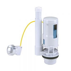 Toilet Flush Valve Button Cistern Dual Push Flush Siphon Fill Bottom Side Entry (4)