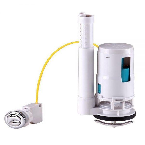 Toilet Flush Valve Button Cistern Dual Push Flush Siphon Fill Bottom Side Entry (6)