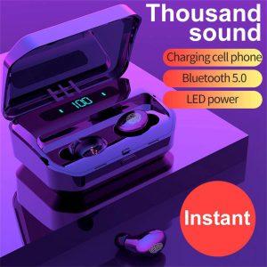 Tws Bluetooth 5.0 Headphones Wireless Earbuds Mini Earphones Stereo Headsets Ipx (1)