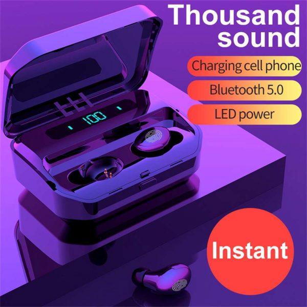 Tws Bluetooth 5.0 Headphones Wireless Earbuds Mini Earphones Stereo Headsets Ipx (2)