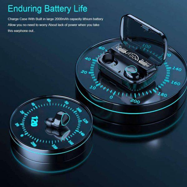 Tws Bluetooth 5.1 Earphones Charging Box Wireless Headphone Earbuds Headsets (3)