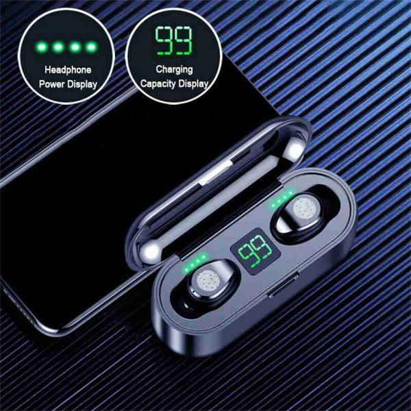 Tws Wireless Earbuds Bluetooth 5.0 Earphonesheadphonesearbuds Led Display (7)