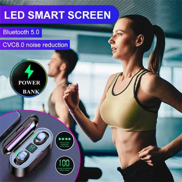 Tws Wireless Earbuds Bluetooth 5.0 Earphonesheadphonesearbuds Led Display (8)