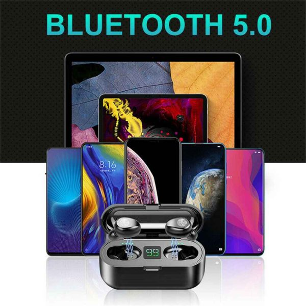 Tws Wireless Earbuds Bluetooth 5.0 Earphonesheadphonesearbuds Led Display (9)