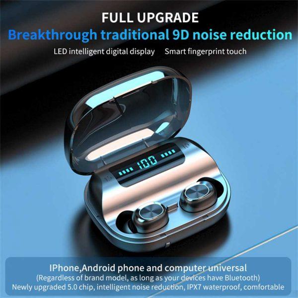Tws Wireless Earphones Headphones Bluetooth In Ear Earbuds For Iphone Samsung Uk (1)