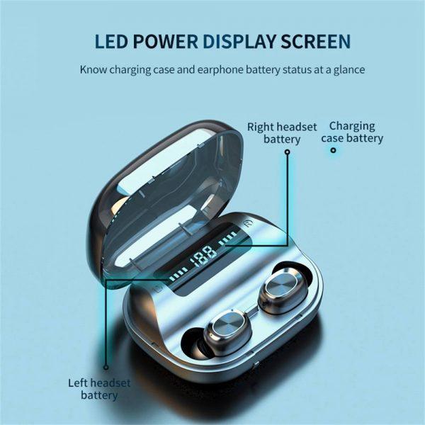 Tws Wireless Earphones Headphones Bluetooth In Ear Earbuds For Iphone Samsung Uk (11)