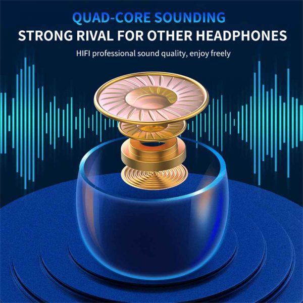 Tws Wireless Earphones Headphones Bluetooth In Ear Earbuds For Iphone Samsung Uk (2)
