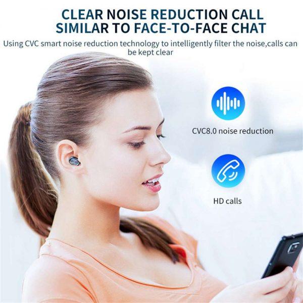 Tws Wireless Earphones Headphones Bluetooth In Ear Earbuds For Iphone Samsung Uk (5)