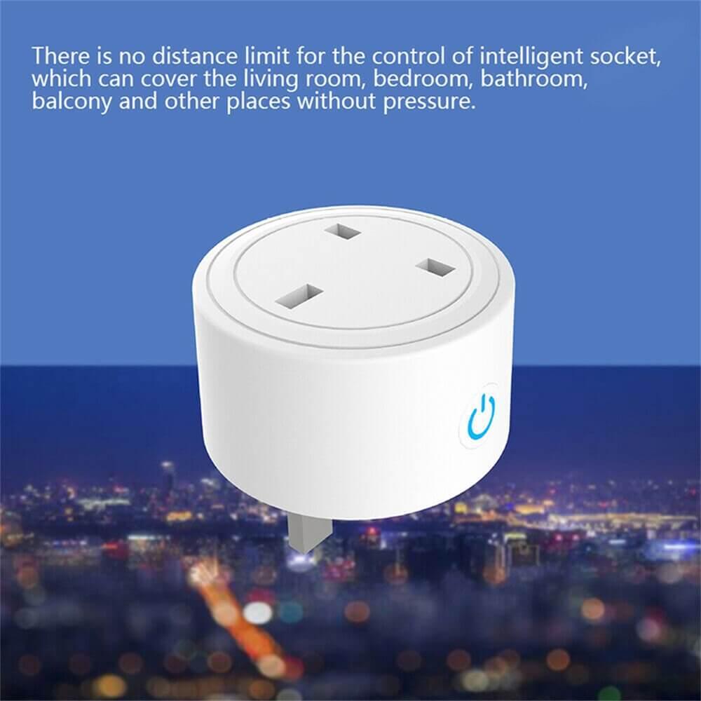 Uk Plug Wifi Smart Socket Power Plug Outlet Remote Control Home Mini Smart Socket (1)