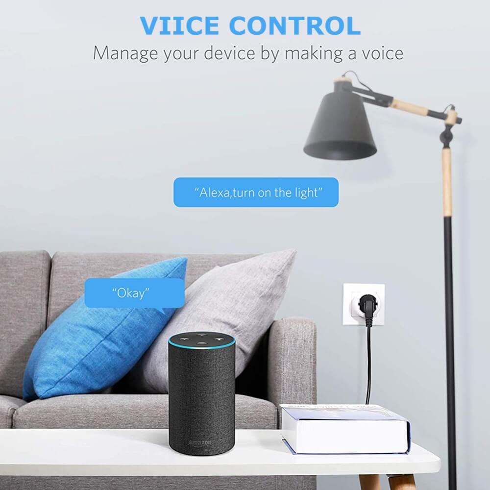 Uk Plug Wifi Smart Socket Power Plug Outlet Remote Control Home Mini Smart Socket (11)
