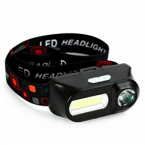 Usb Rechargeable Led Headlamp Headlight Head Lamp Torch Flashlight Waterproof (3)