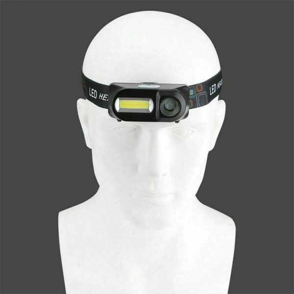 Usb Rechargeable Led Headlamp Headlight Head Lamp Torch Flashlight Waterproof (4)