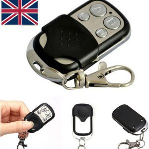 Universal Garage Door Cloning Remote Control Key Fob 433mhz Gate Copy Code