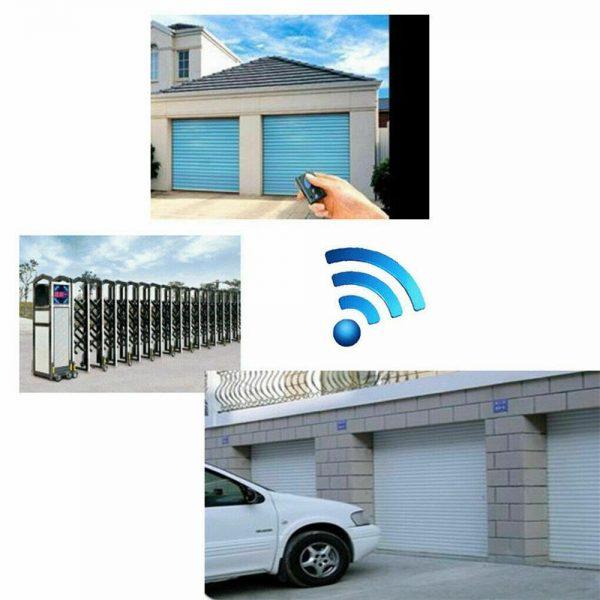 Universal Garage Door Cloning Remote Control Key Fob 433mhz Gate Copy Code (5)