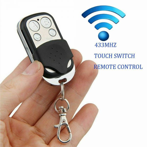 Universal Garage Door Cloning Remote Control Key Fob 433mhz Gate Copy Code (9)