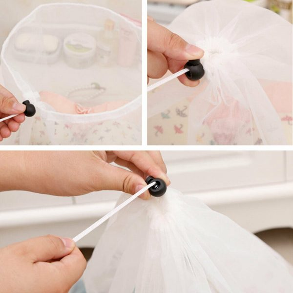 Washing Machine Mesh Net Bags Laundry Bag Large Thickened Wash Bags Reusable (10)
