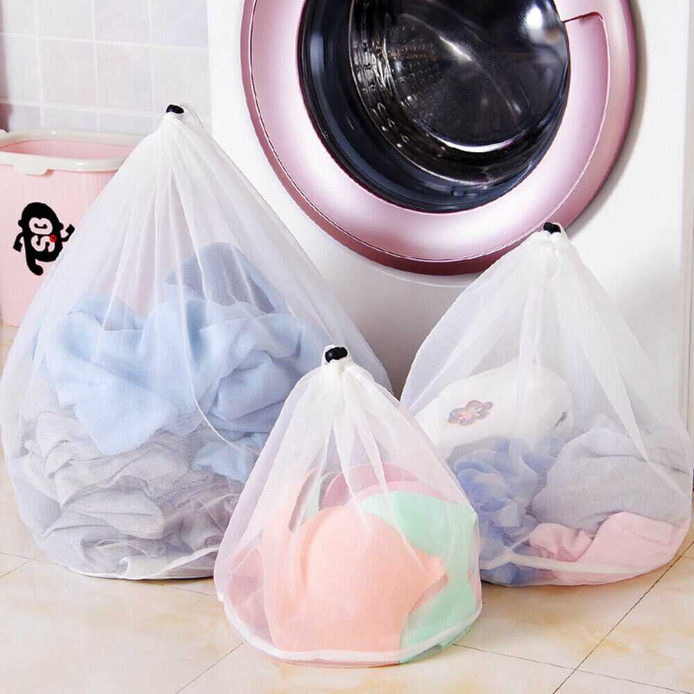 Washing Machine Mesh Net Bags Laundry Bag Large Thickened Wash Bags Reusable (15)