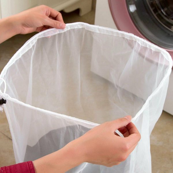 Washing Machine Mesh Net Bags Laundry Bag Large Thickened Wash Bags Reusable (16)