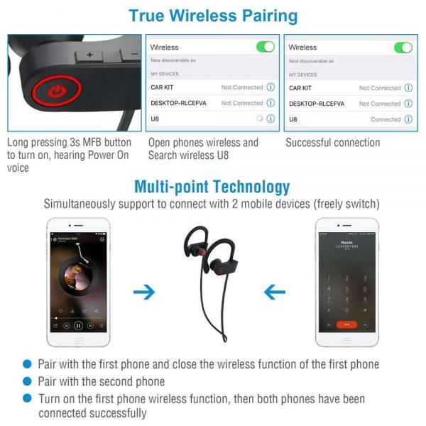 Waterproof Bluetooth Earbuds Beats Sports Wireless Headphones In Ear Headsets (14)