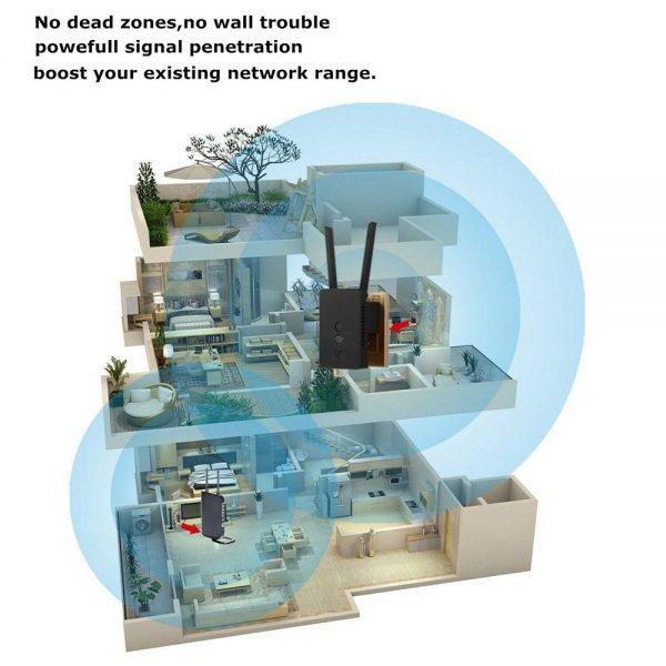 Wifi Range Extender Internet Signal Booster Router Wireless Enhancer Repeater (12)