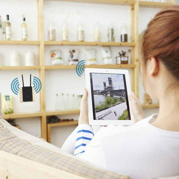 Wifi Range Extender Internet Signal Booster Router Wireless Enhancer Repeater (14)