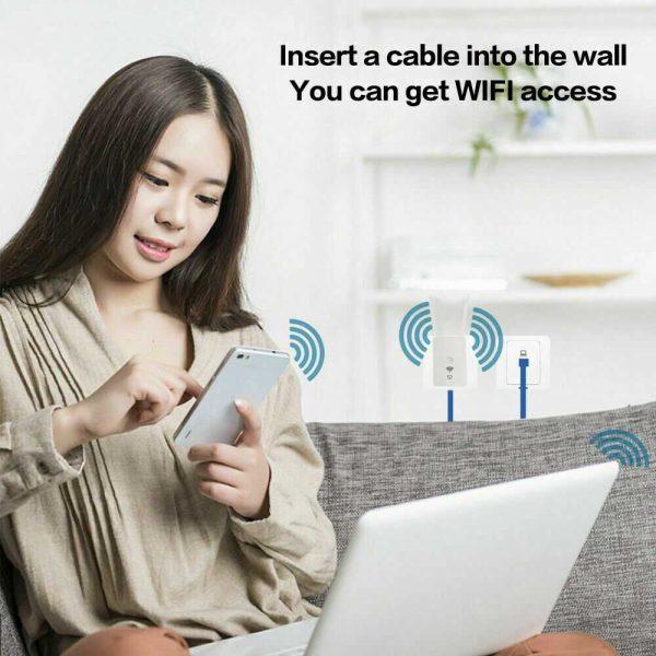 Wifi Range Extender Internet Signal Booster Router Wireless Enhancer Repeater (6)