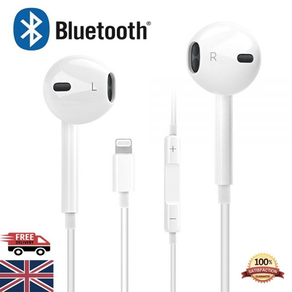 Wired Bluetooth Headphones Earphones Headset For Iphone 7 8 X Xs Max 11 Pro 12 (7)