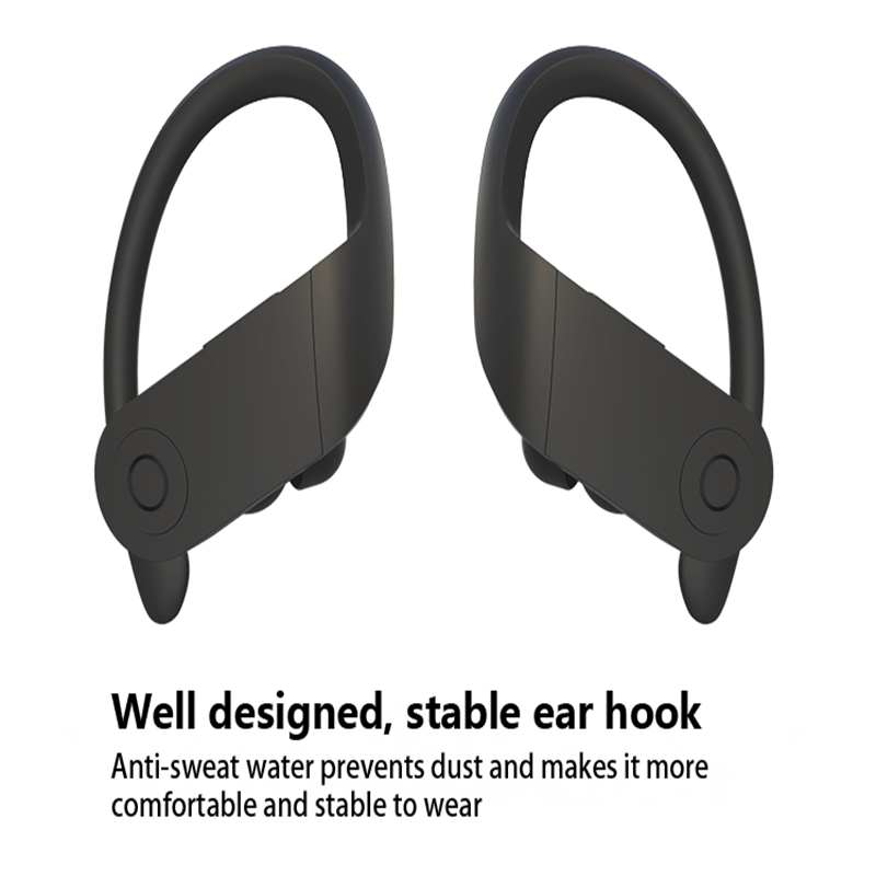 Wireless Earbuds Active Noise Canceling With Mic Hi Fi Stereo Fit In Running Jogging Workout (1)