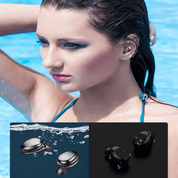 Wireless Earbuds Sports Bluetooth Headphones Auto Pair In Ear Style Led Display Usb Charging Case (4)