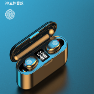 Wireless Earbuds Sports Bluetooth Headphones Auto Pair In Ear Style Led Display Usb Charging Case (7)