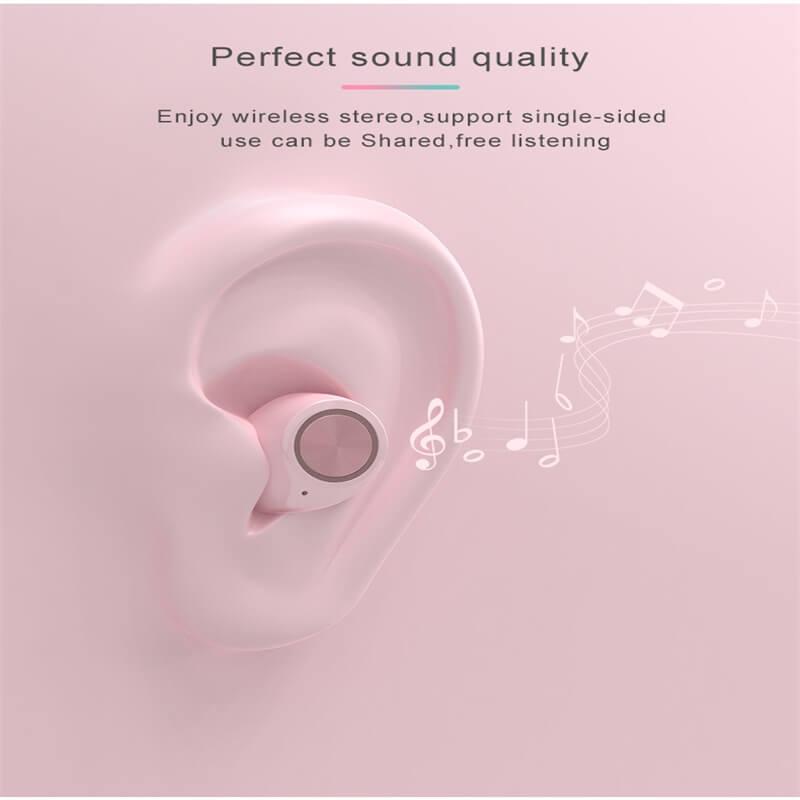 Wireless Earphone With Charging Box Stereo Surround Earphone (4)