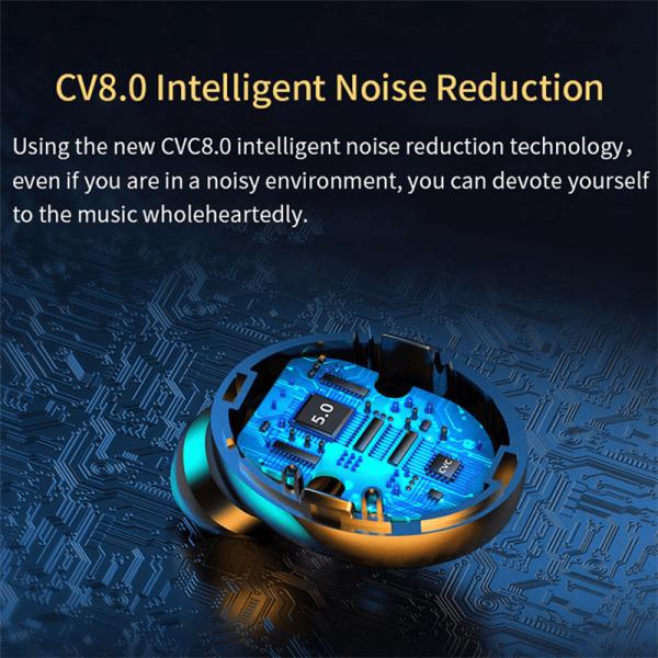 Wireless Earphones 8d Stereo Bass Sport Headphones With 3 Led Digital Power Display (3)