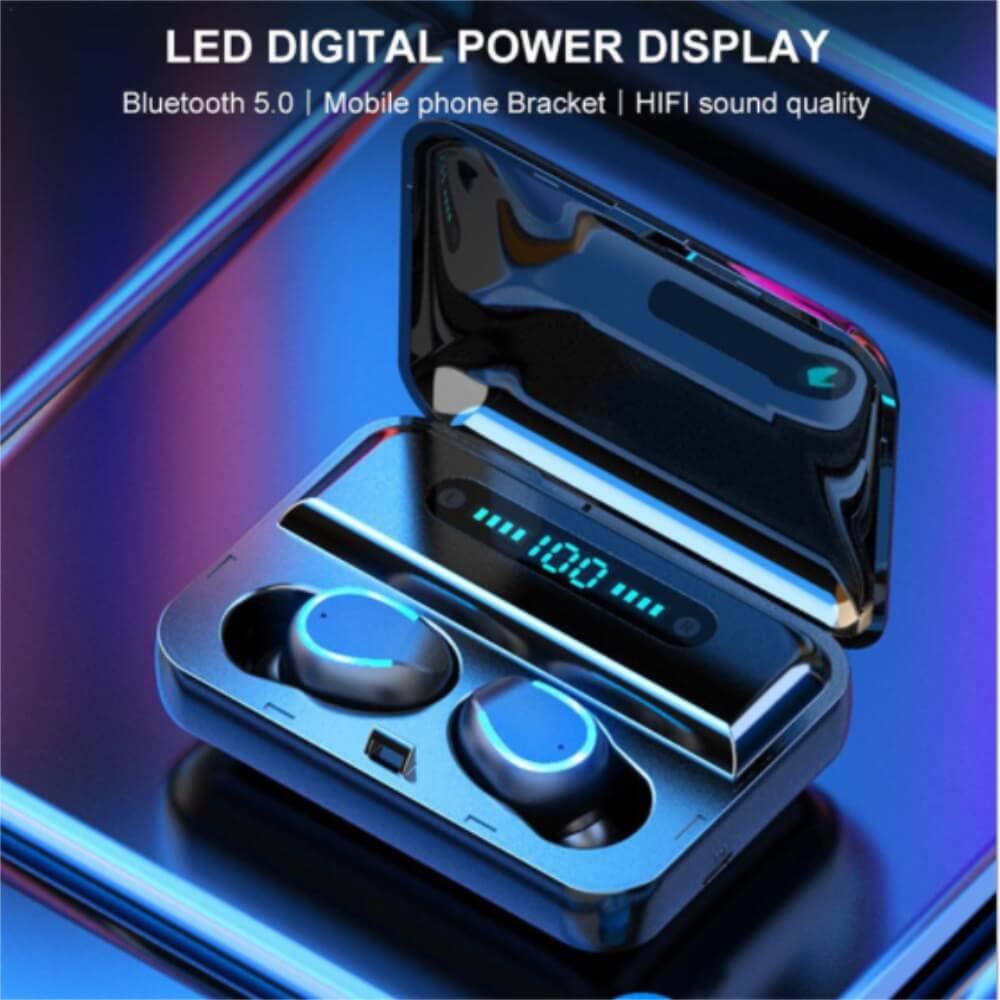 Wireless Headphones Gaming Headset Noise Mini In Ear Support Sports Running Earphone (9)