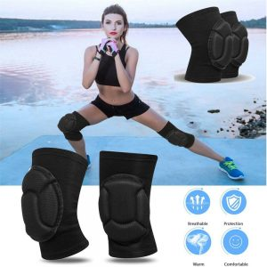 1 Pair Professional Knee Pads Construction Comfort Leg Protectors Work Safety (1)