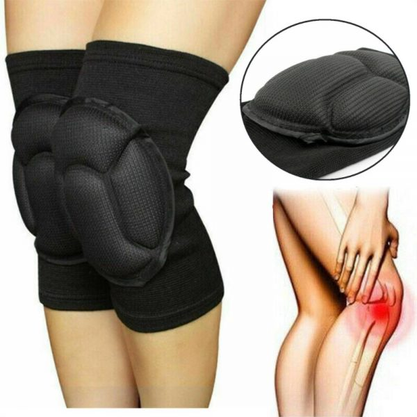 1 Pair Professional Knee Pads Construction Comfort Leg Protectors Work Safety (12)