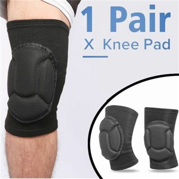 1 Pair Professional Knee Pads Construction Comfort Leg Protectors Work Safety (2)