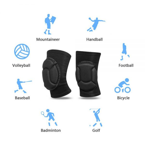 1 Pair Professional Knee Pads Construction Comfort Leg Protectors Work Safety (7)