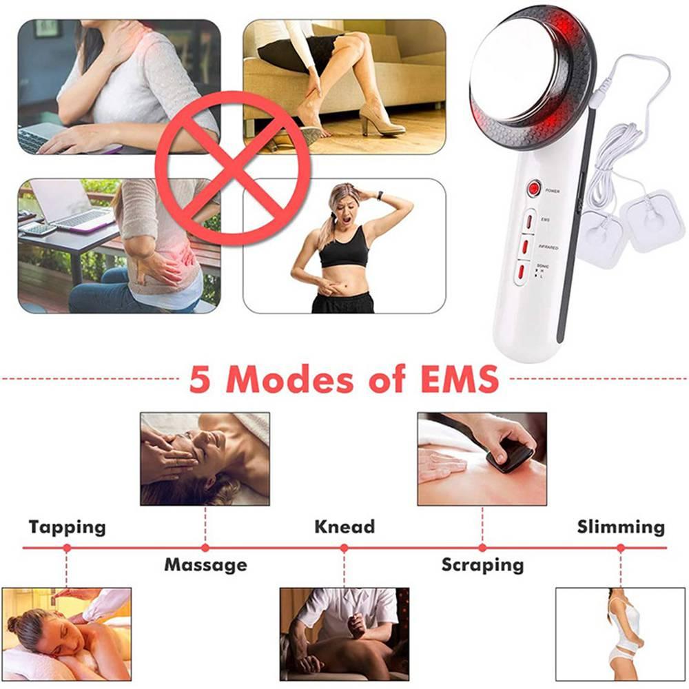 3 In 1 Ultrasonic Cavitation Fat Remover Anti Cellulite Body Slimming Machine (14)