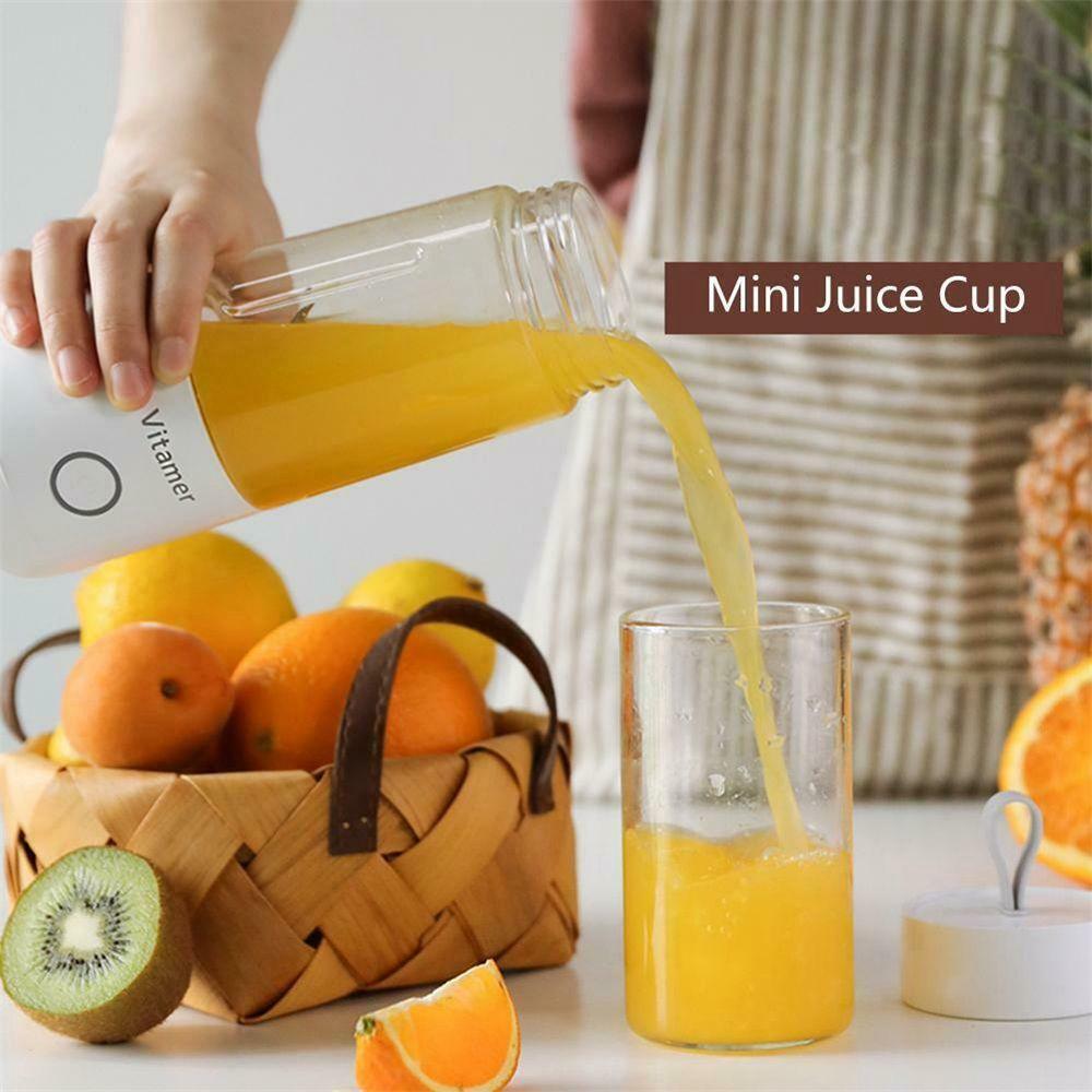 350ml Smart Usb Mini Juice Cup Portable Blender Smoothie Juice Machine (13)