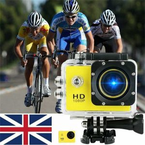 4k Full Hd 1080p Waterproof Sports Camera Action Camcorder Sports Dv Car Camera (1)